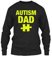 Trendsetting Autism Dad - Gildan Long Sleeve Tee Gildan Long Sleeve Tee T-Shirt