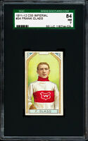 1911-12 C55 Imperial Tobacco #34 Frank Glass (Montreal).  SGC 84 Near Mint!
