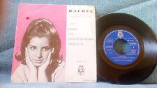 Rachel con la Orquesta Los Magnificos y Marbel – Karina + 3 RARE SPAIN PROMO EP