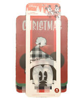 DISNEY Mickey Minnie Mouse Christmas Flexible Cutting Boards (4 PACK) 11.5 X 15