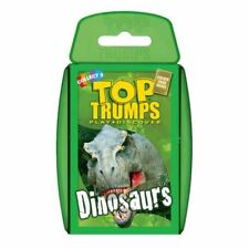 TOP TRUMPS DINOSAURS CARD GAME BRAND NEW