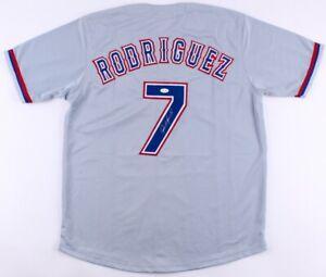 Ivan Rodriguez Signed Texas Rangers Jersey (JSA COA) 14xAll Star / AL MVP (1999)