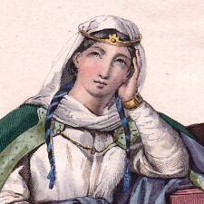 Héloise D'Argenteuil Heloisa Fondatrice du Paraclet Abbesse Abélard