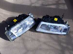 ALFA ROMEO 164 QV FACELIFT HEADLIGHTS SET EURO LHD PROJECTOR BOSCH