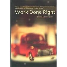 Work Done Right: Poetry (Camino Del Sol)