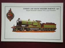 POSTCARD D15 CLASS LOCO NO 469 FOR LONDON & SOUTH WESTERN RAILWAY