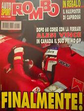 Auto & Sport ROMBO 24 1995 con maxi poster di LORIS CAPIROSSI