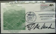 Ed McMahon - Autographed Commemorative Stamp Cover