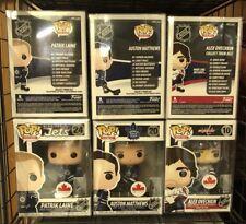 3 NHL Alex Ovechkin Patrick Laine Auston Matthews Funko Pop! Exclusive Figure
