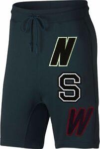 Nike NSW Fleece Shorts- Loose Fit/ At Knee Length Men's Large  930248 303