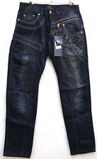KOSMO LUPO Herren Men Jeans Hose Denim Clubwear W32 Japan Style NEU Black G314
