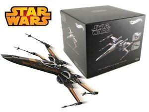 Modèle Diecast Bateau Poe Dameron X-Wing Star Wars Hot Wheels Elite
