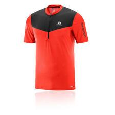 Abbiglimento sportivo da uomo rossi con lunghezza della manica mezza manica taglia XL