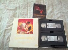 vhs GONE WITH THE WIND DELUXE EDITION FROM TURNER BROADCASTING