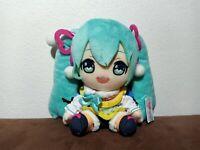 "Hatsune Miku Autumn & Winter Plush Doll Toy Japan Taito Prize Japan MWT 6.5"""