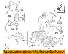 AUDI OEM 09-15 TT Quattro 2.0L-L4 Fuel Tank Filler-Gas Cap 8J0201550N