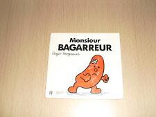 "Monsieur BAGARREUR   Roger Hargreaves Collection ""Bonhomme"""