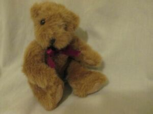 "Russ Chadsworth BEARS FROM THE PAST #1203 Lt Brown 7"" Plush Stuffed Bear Animal"