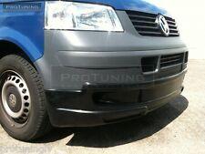 VW T5 03-09 Transporter bus Front Bumper spoiler lip Valance addon Projekt Zwo