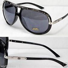 New DG Eyewear Mens Sunglasses Shades Fashion Designer Silver Black Designer Big