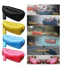 Official Pouch Couch Inflatable Air Sofa Black Used Once As Seen On TV