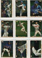 1995 Topps Cyberstats Baseball Team Sets **Pick Your Team**