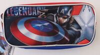 Marvel Captain America Pencil Case NWT FREE SHIPPING