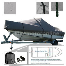 Celebrity 210 Cuddy Cabin I/O Trailerable Boat Cover Gray