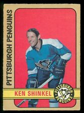 1972 73 OPC O PEE CHEE HOCKEY  #256 KEN SCHINKEL EX+ PITTSBURGH PENGUINS CARD