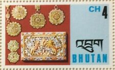 SPECIAL LOT Bhutan 1975 187 - Jewelry - 20 Full Sheets of 40 - MNH