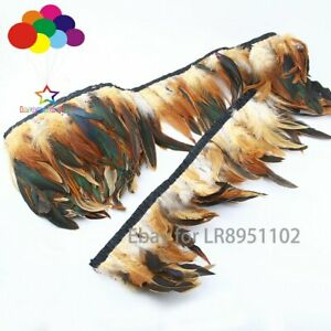 10 Meter natural Selections Rooster Tail Wedding Bride Dresses Decoration Skirt
