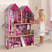 KIDKRAFT COUTURE WOODEN KIDS DOLLHOUSE DOLLS HOUSE + FURNITURE BARBIE DOLL