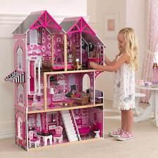 KidKraft COUTURE IN LEGNO BAMBINI CASA DELLE BAMBOLE DOLLS HOUSE + mobili Barbie Doll