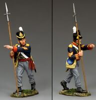 KING & COUNTRY THE AGE OF NAPOLEON NA344 BRITISH ROYAL ARTILLERY SERGEANT PIKE