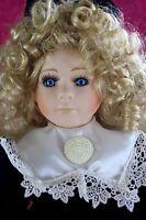 Regency Fine Arts Limited Edition  Porcelain Doll Hayley 16 in