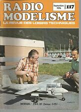 "RADIO MODELISME N°117 LES ""CACAHUETES"" / FOCKE-WULF TA 154 A-1 / HUMMING BIRD"