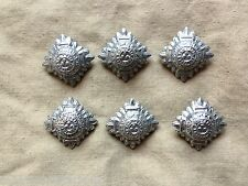 Original Vintage British Police Inspector/Chief Inspector Chrome Metal Pips x 6