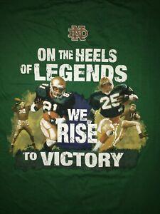 "New Sz 3X ""The Shirt"" 2013 NOTRE DAME ANNUAL FOOTBALL SHIRT Fighting Irish GREEN"
