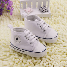 New Baby Shoes Boys Kids Newborn Soft Soles Crib Sneaker Pre-walker Infant 0-6M