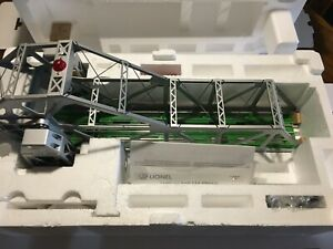 LIONEL MODEL TRAIN 313 BASCULE BRIDGE 6-12948 MINT ORIGINAL 97' IN BOX