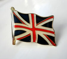 ZP411 National Country Flag Pin Badge Union Jack Great Britain United Kingdom UK