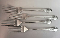 Together Dinner Forks (Set of 4) Tudor Plate Oneida Community Silverplate