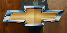 Chevrolet GM Bowtie Large 50x14 Metal Art Sign - PhotoSTEEL