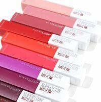 MAYBELLINE Superstay Matte Ink Liquid Lipstick 5ml SEALED - Various Shades