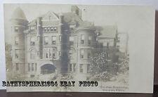 Toledo Ohio OH City Hospital Medical Building Real Photo Postcard 1905 1908 UDB