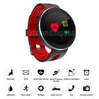 Smart Bracelet Sports Watch Heart Rate Blood Pressure Monitor Tracker Q8 PRO os1