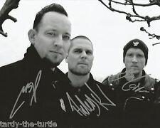 Volbeat  8 x 10 Autograph Reprint   Michael Poulsen  Anders Kjølholm  Jon Larsen