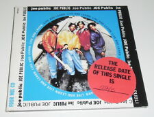 JOE PUBLIC - LIVE AND LEARN - 1992 UK 4 TRACK CD SINGLE IN DIGIPAK SLEEVE