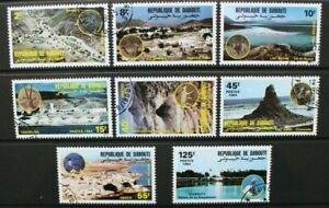 DJIBOUTI 1984 Landscapes Scenery Countryside. Set of 8. Fine USED/CTO. SG913/920