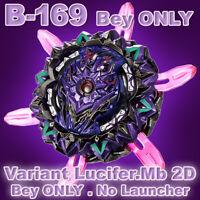 Takara Tomy Beyblade・B-169・Variant Lucifer・Mb・2D・Full Bey・No Launcher・No Box